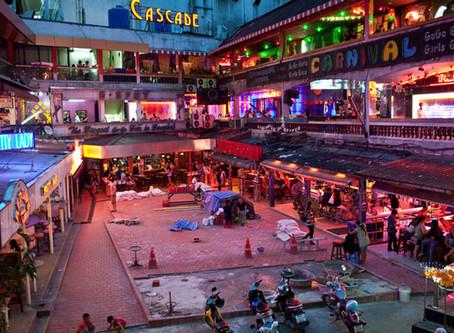 Waar verblijft een alleenstaande man in Bangkok?