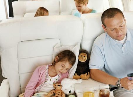 Su salud durante el vuelo
