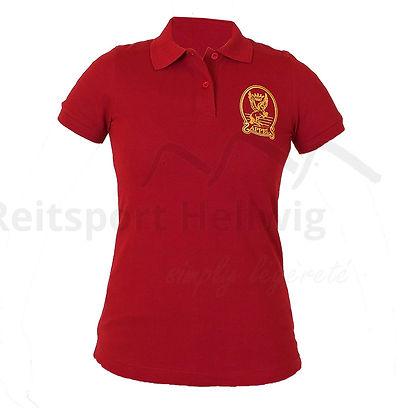 Poloshirt bordeaux available at Reitsport Hellwig