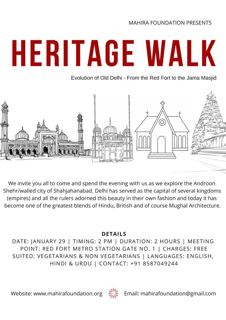 Heritage Walk.