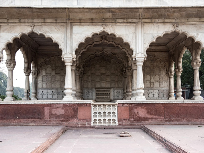 Exploring the Mughal Harem of the Red Fort with Jibin George