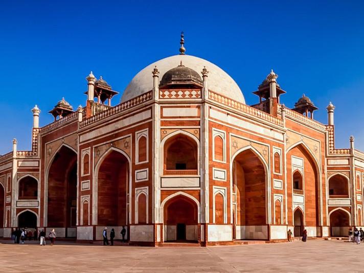 Visit to Humayun's Tomb with Parvinder Kaur