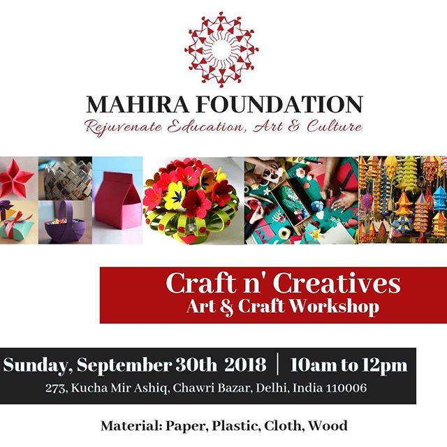 Craft n' Creatives:  Art & Craft Workshop