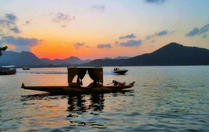 "The Jai Sagar Lake ""The Fateh Sagar Lake"" or ""FS Lake"" with Dhruv Chittora"