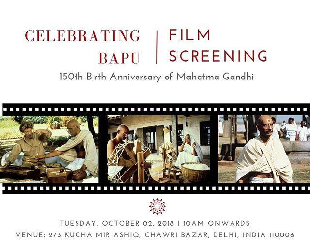 Celebrating Bapu: Film Screening