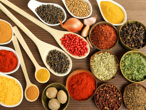 Stories and Colourful Array of Spices at Khari Baoli with Jibin George