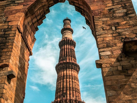 Revisiting the Famous Qutub Minar Complex with Moby Sara Zachariah