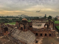 Exploring Feroz Shah Kotla Complex- 'The City of Djinns' with Moby Sara Zachariah