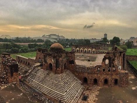 Exploring Feroz Shah Kotla Complex- 'The City of Djinns' with Moby Sara Zachariah