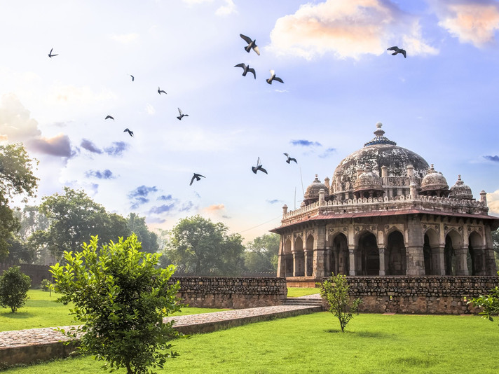 Exploring Nature and Monuments of Lodi Garden with Moby Sara Zachariah