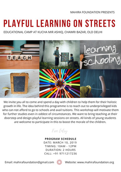 Playful Learning on Streets