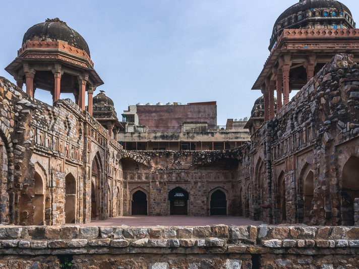 Traversing through the Historic Mehrauli Village with Moby Sara Zachariah