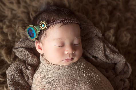 ニューボーンフォト髪飾り