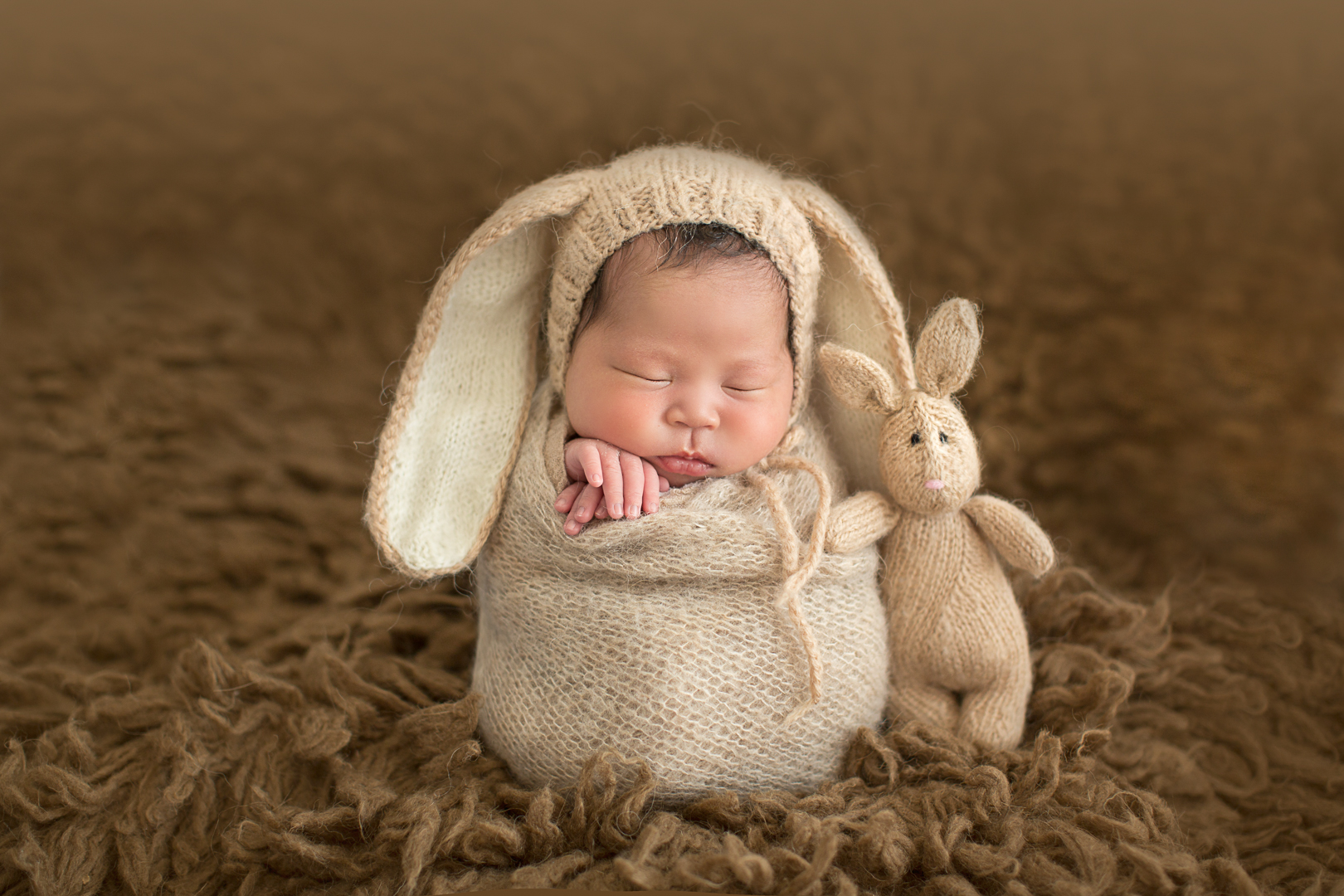Newborn Potato Sack Bunny