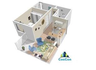 cosconperu.com 3D venta de departamentos construcción remodelaciones