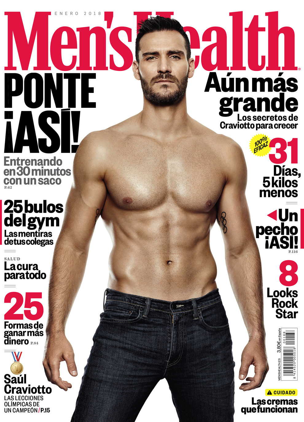 Saul Craviotto Mens Health
