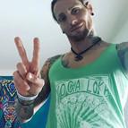 Volunteer Matt in YogaLoka Tank