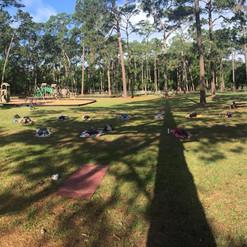 Wildflowers Yoga at Tom Petty Park