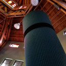 Yoga Mat in the Library