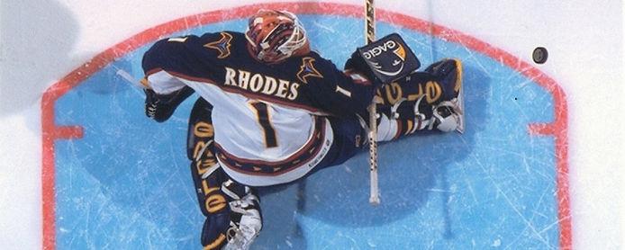 DAMIAN RHODES NHL GOALIE