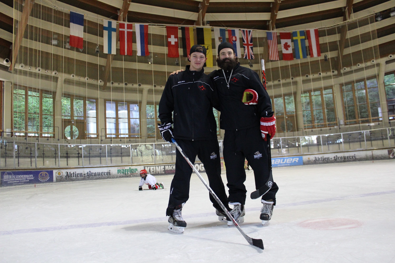 Donatas Mitte und Ty Morris