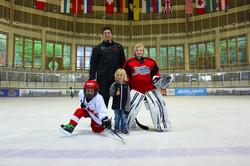 Stafan Vajs mit seine Söhne