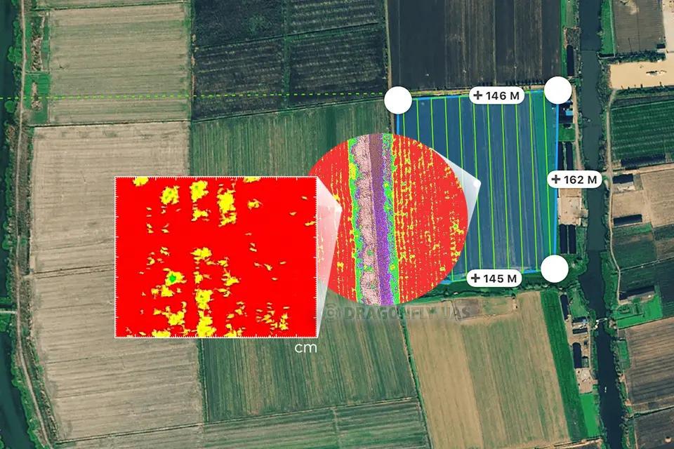GS Pro支援航線規劃功能,簡易的操作即可輕鬆且快速完成測區的圖資蒐集,大幅降低人力及時間。圖片來源:DJI官方網站