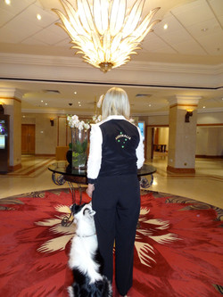 Crufts Hilton Hotel foyer