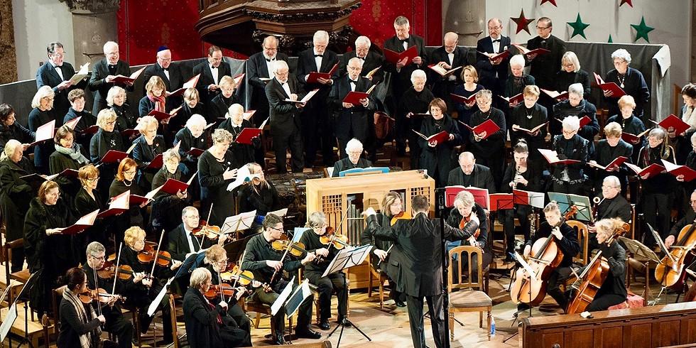 Concert de Noël - le Chant Sacré de Mulhouse au Temple Saint Etienne 17/12/17