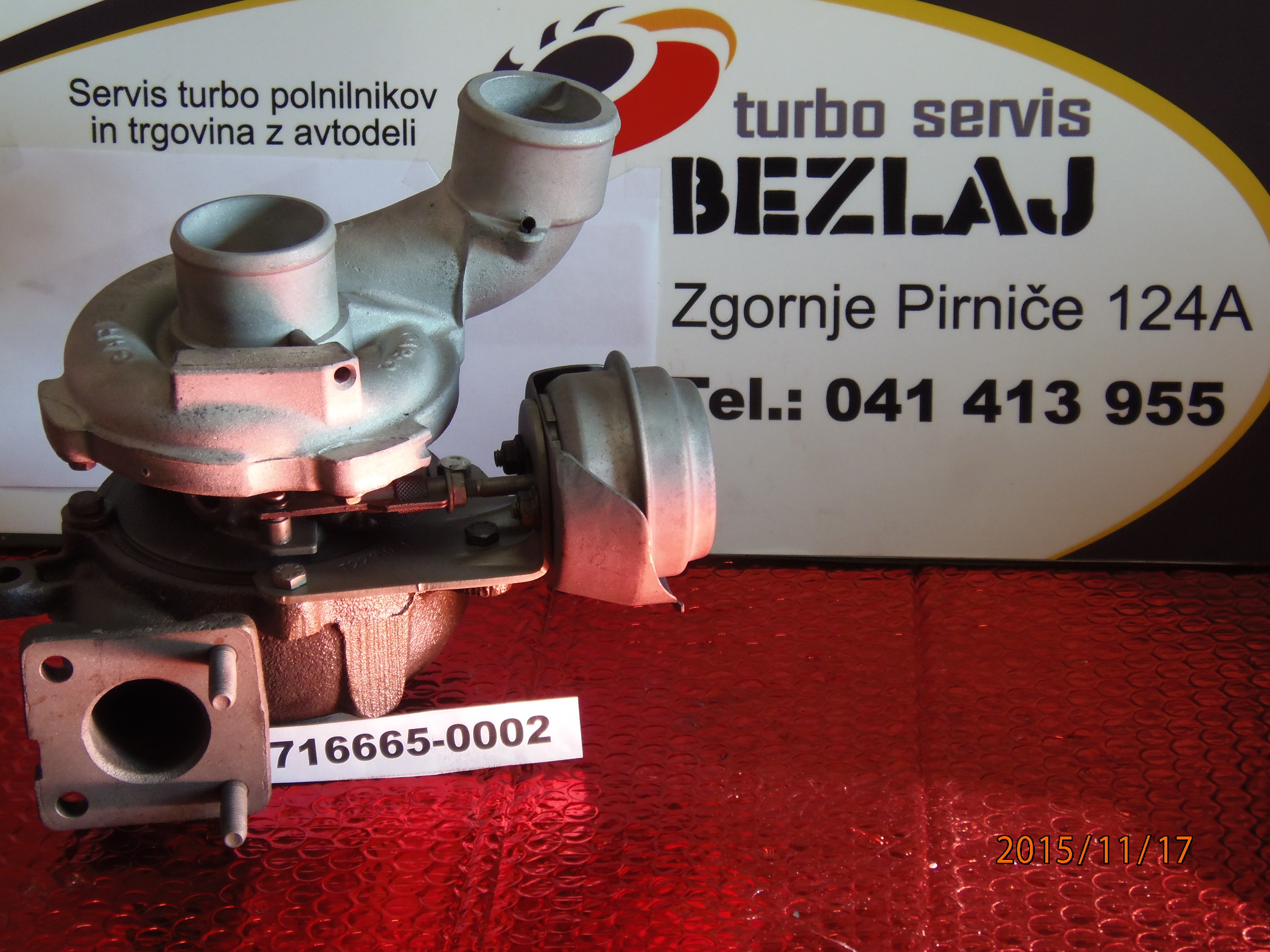 turbo 716665-0002