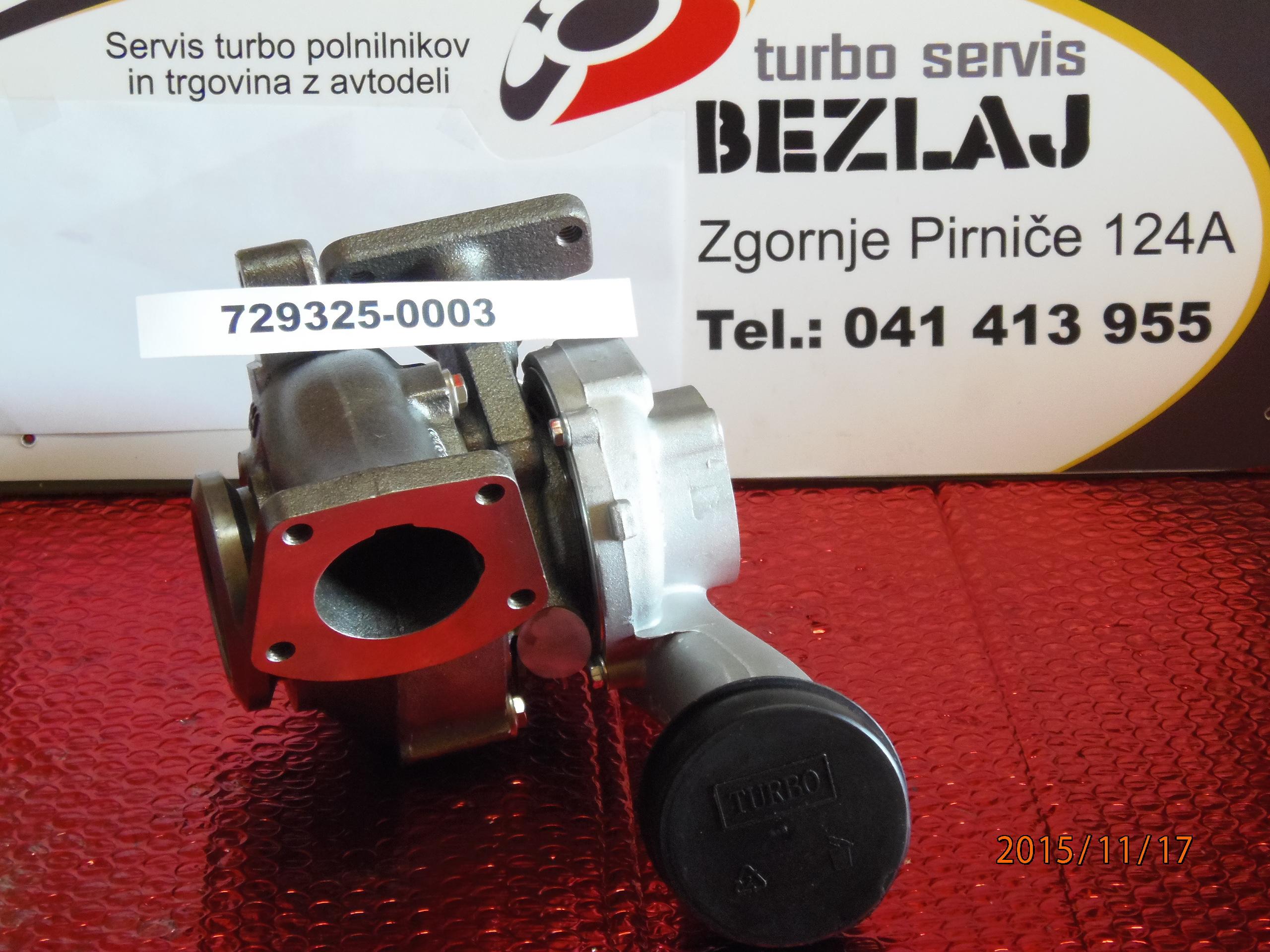 TURBINA 729325-5003S