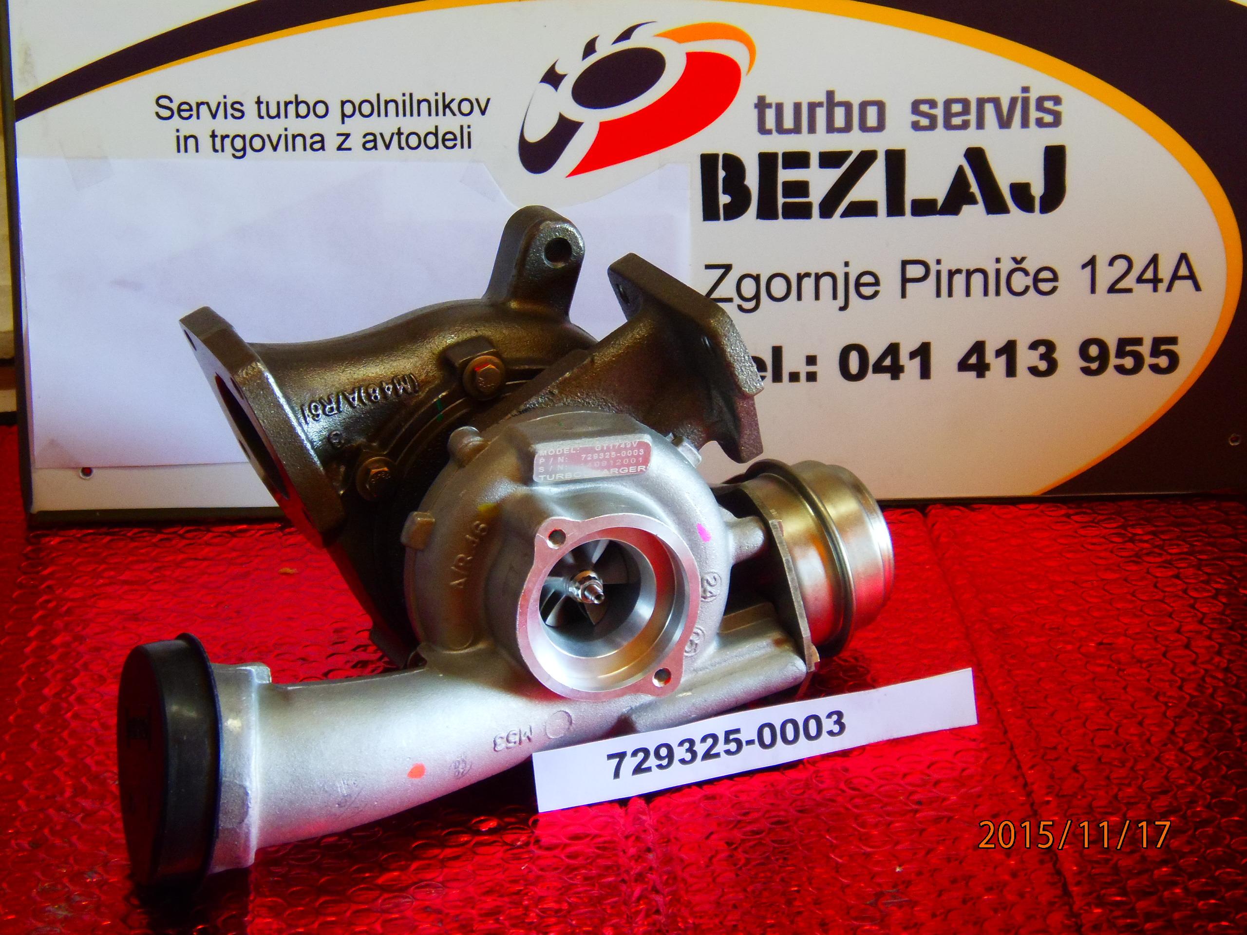 TURBO 729325-5003S