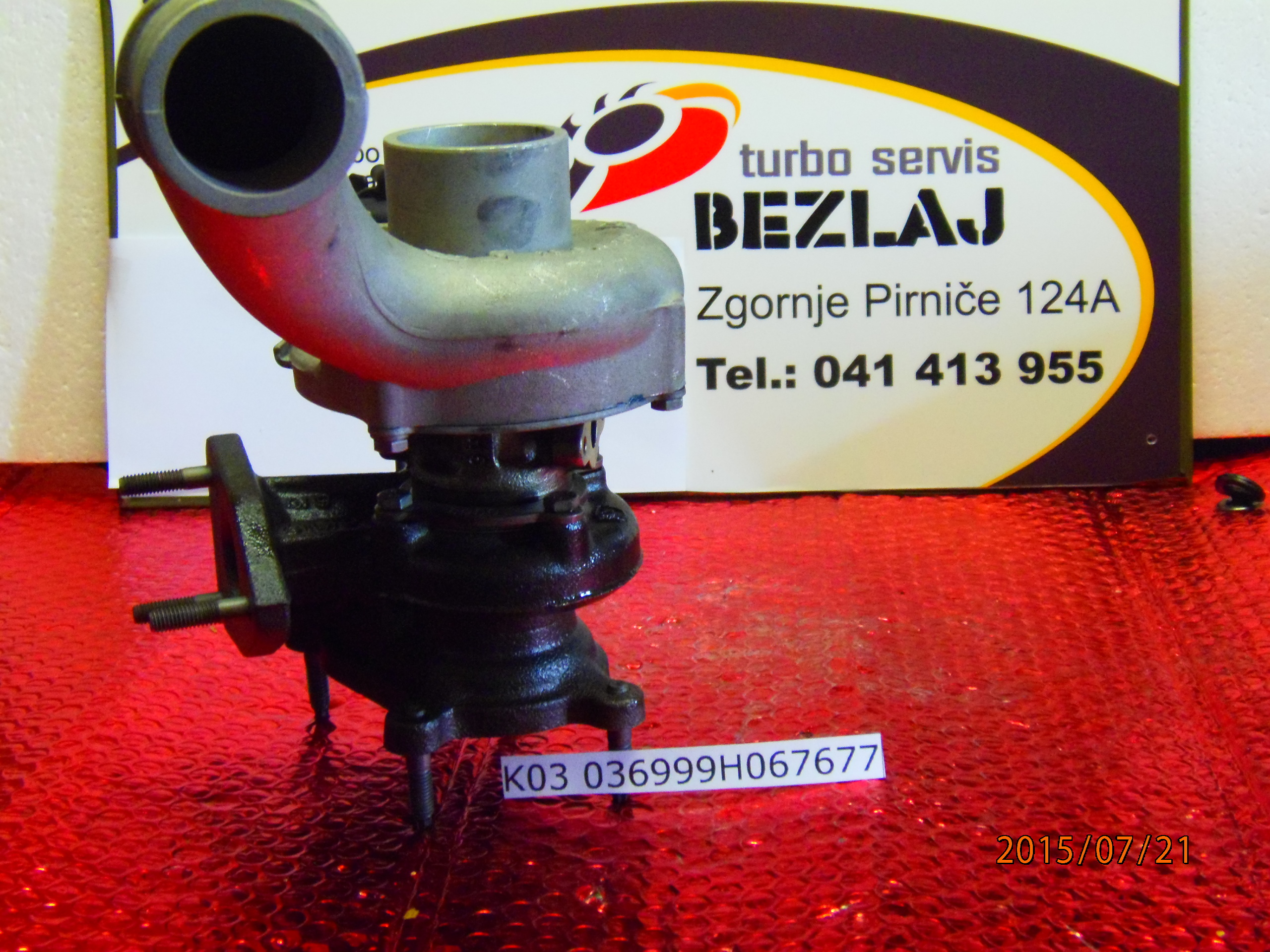 turbo K03 036999H067677