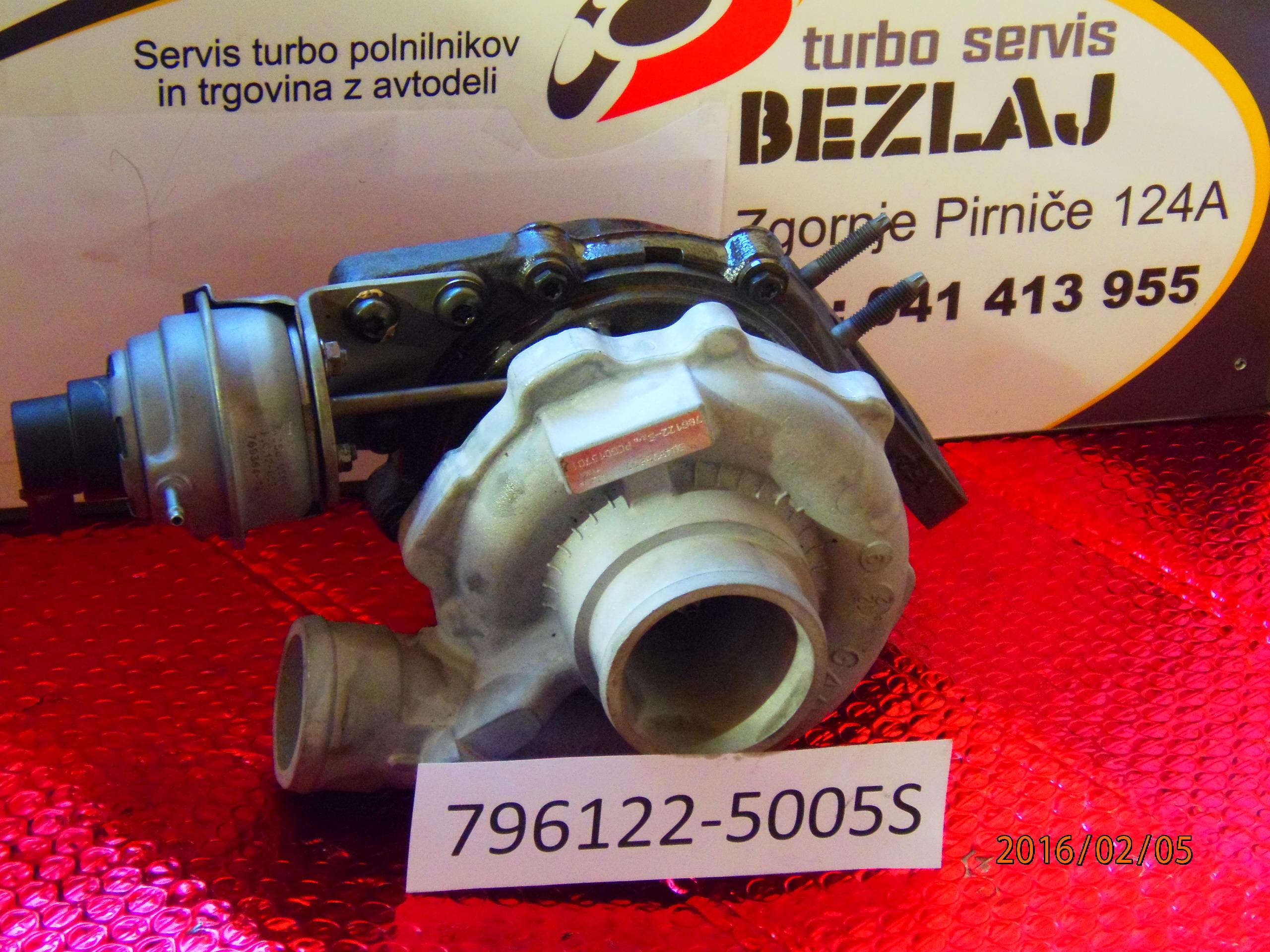 turbo796122-5005s