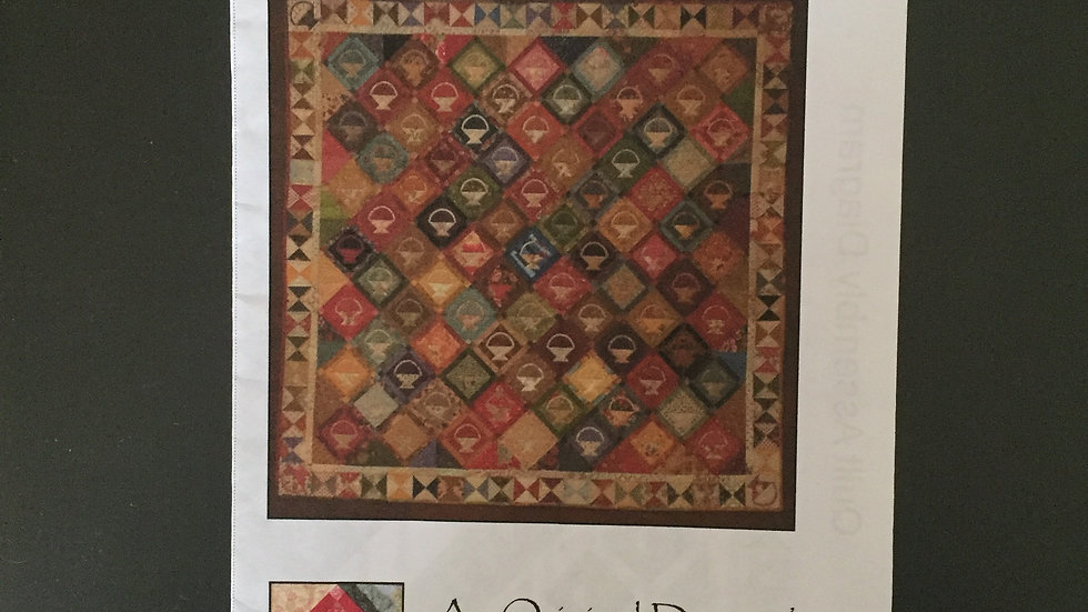 My Charming Scrap Baskets Quilt Pattern