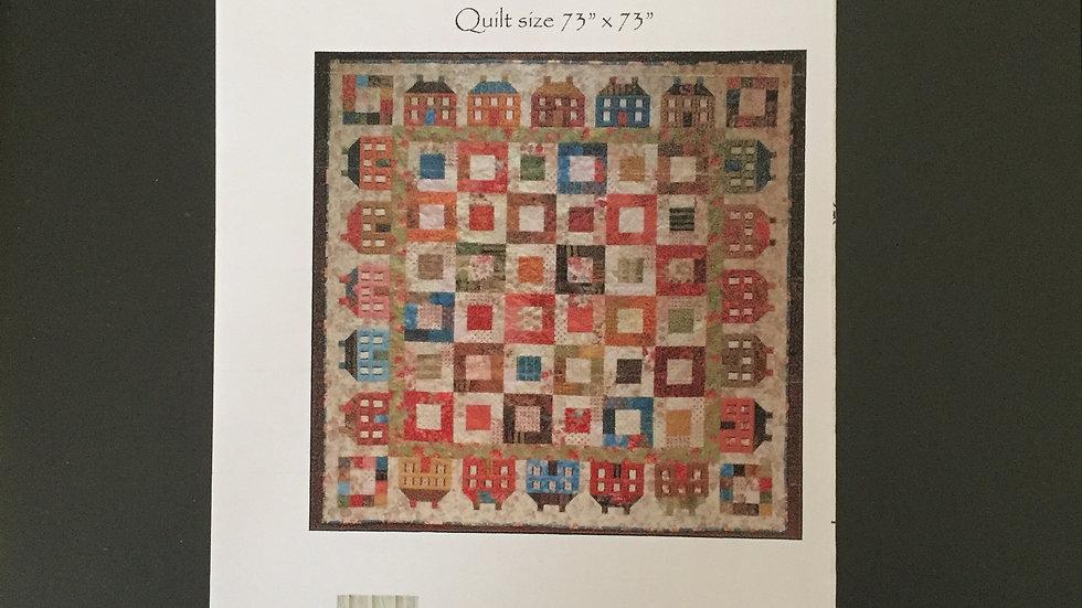 Around the Block Quilt Pattern