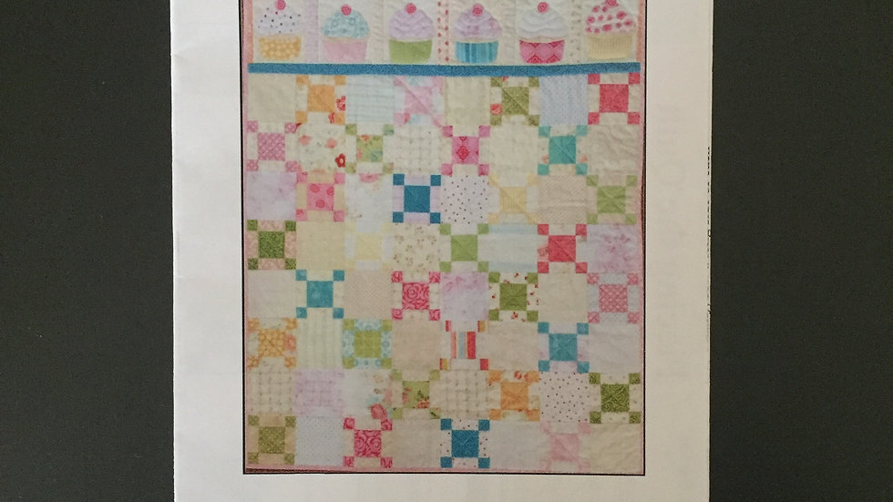 My Little Cupcake Quilt Pattern