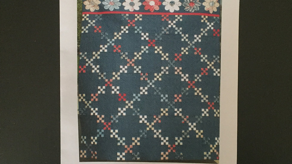 Cottage Bloom Quilt Pattern