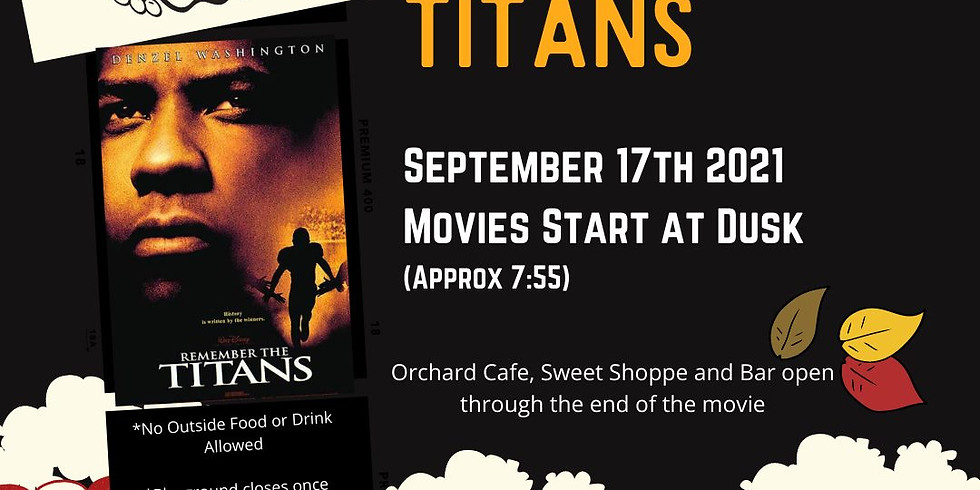 Free Friday Night Movies - Rembember the Titans