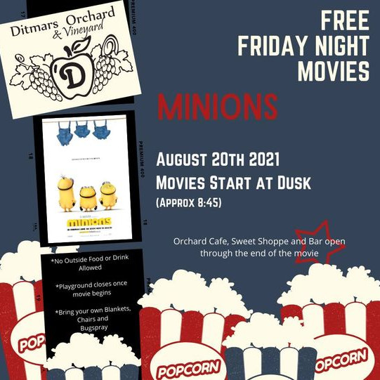 Free Friday Night Movies - Minions