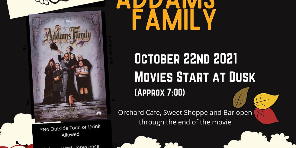 Free Friday Night Movies - The Addams Family