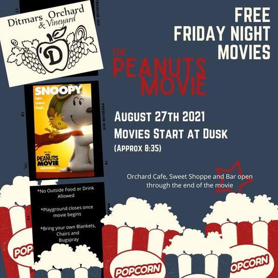Free Friday Night Movies - Peanuts Movie
