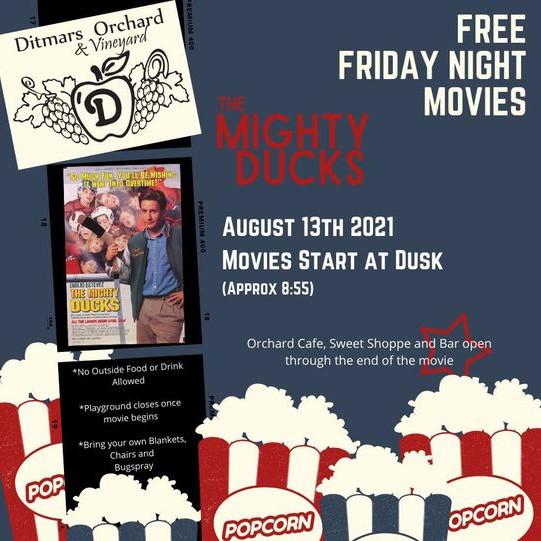Free Friday Night Movies - Mighty Ducks