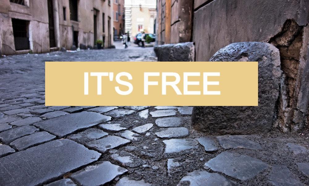 Roma storica (free session)