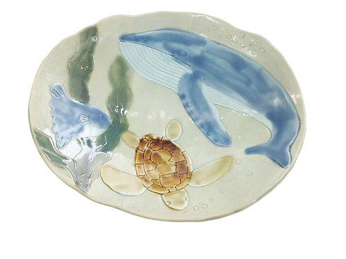 釉薬体験うつわの水族館に色をつけよう15:00-16:00