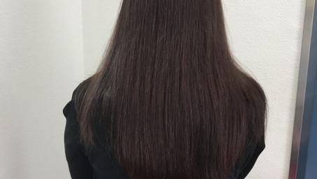 髪質改善ヘアーエステの一ヶ月後