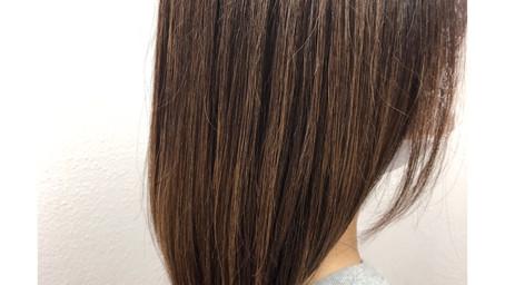 大人女性も髪質改善でツヤツヤに。