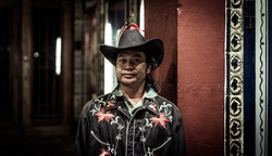 USA, Portraits, indian, hat