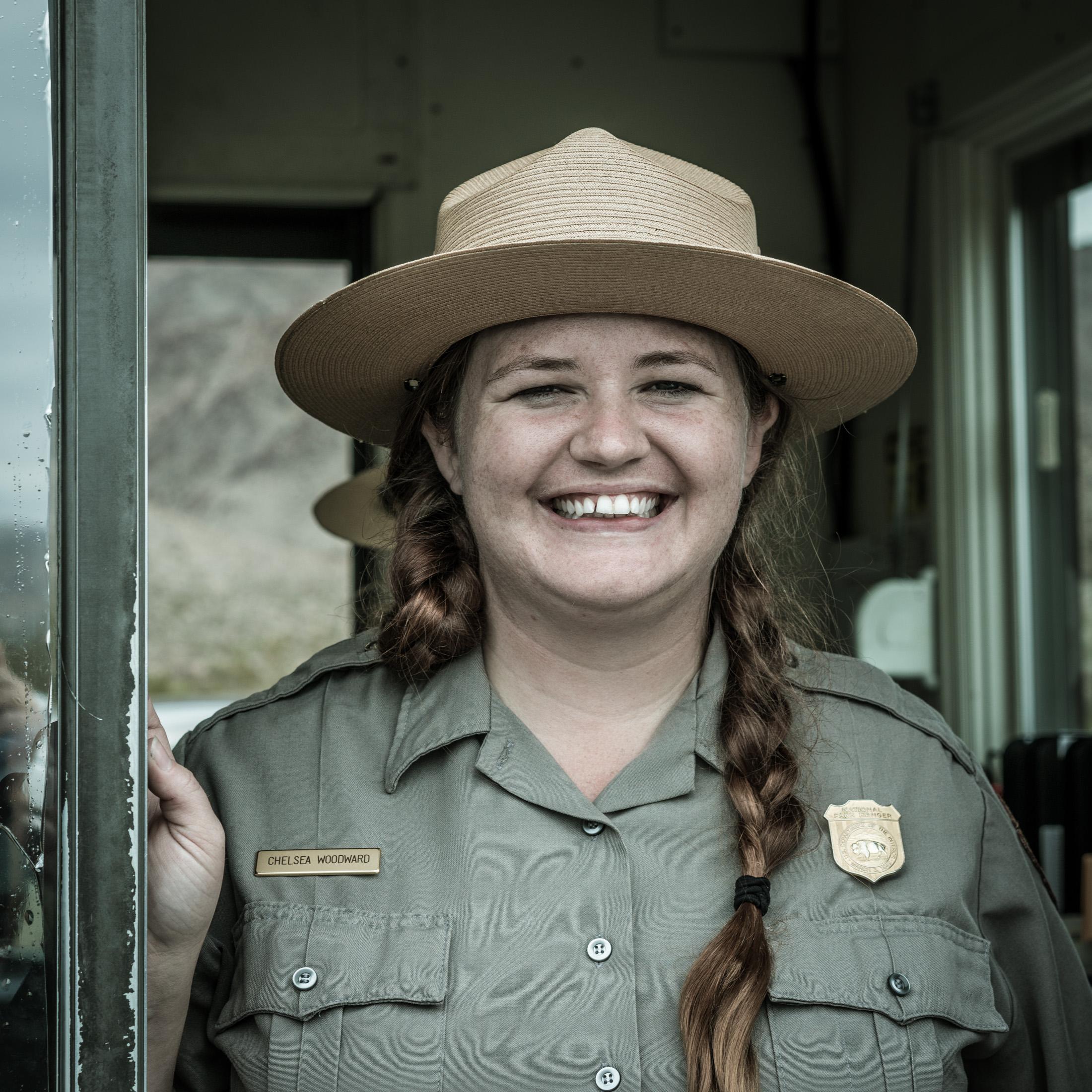 USA, Portraits, park ranger