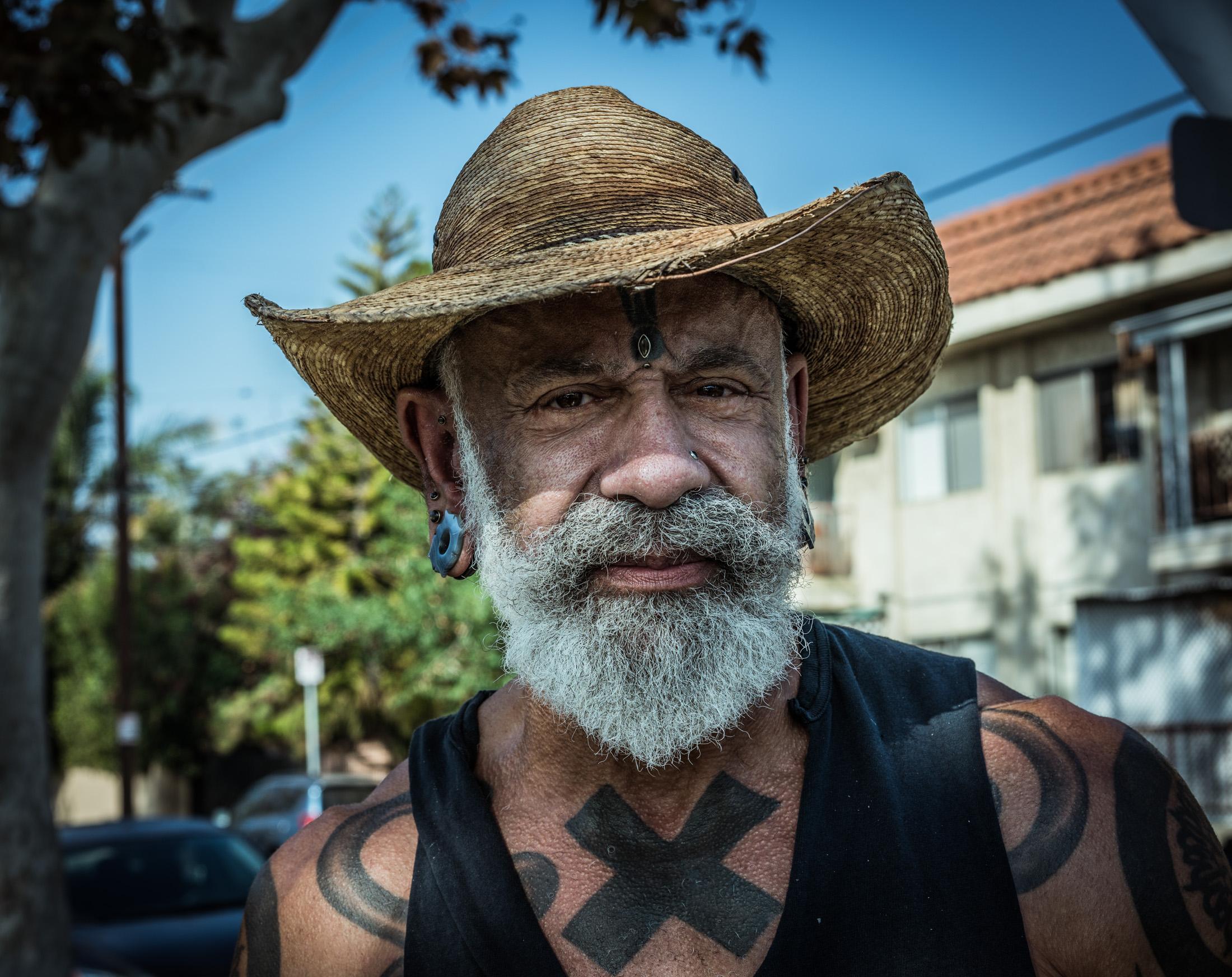 USA, Portraits, Tatoo, Los Angeles